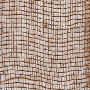 Jutová tkanina škrobená 120 g / m2, šířka 100 cm, délka role 50 m
