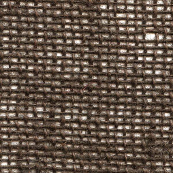 Jutová tkanina hnědá o gramáži 211 g/m2