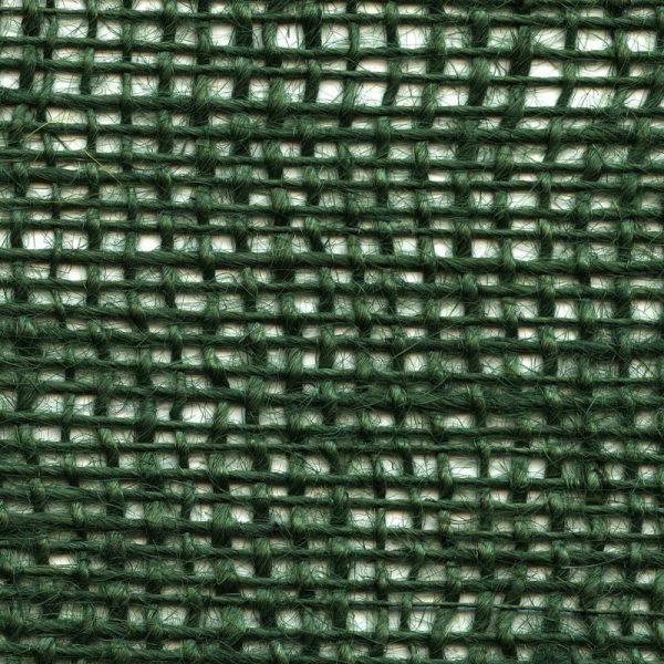 Jutová tkanina zelená o gramáži 211 g/m2