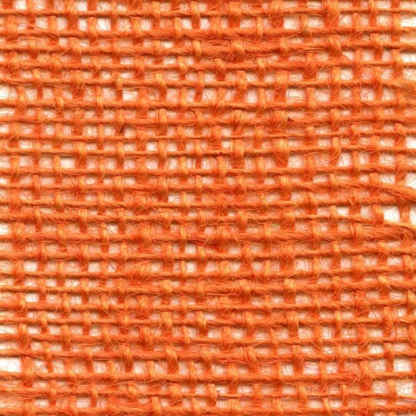 Jutová tkanina oranžová o gramáži 211 g/m2
