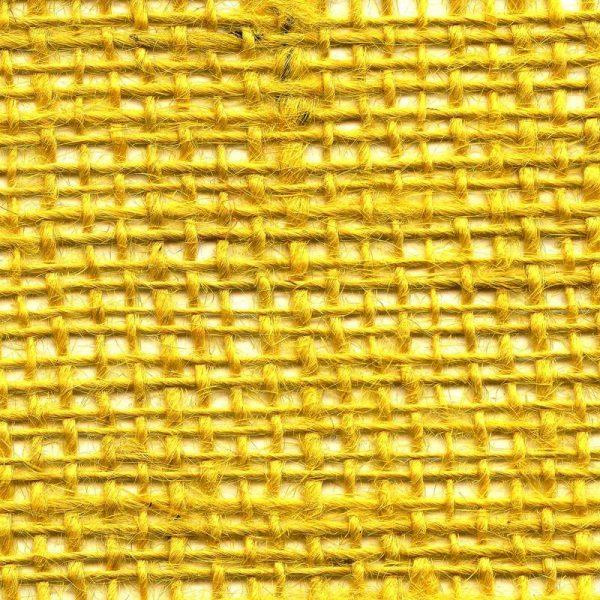 Jutová tkanina žlutá o gramáži 211 g/m2