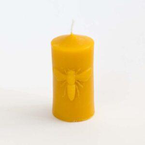 Svíčka včelka ze 100% včelího vosku, 6,5 cm